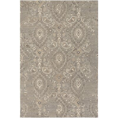 Barnhardt Hand-Tufted Taupe/Tan Area Rug Rug Size: Rectangle 8 x 10