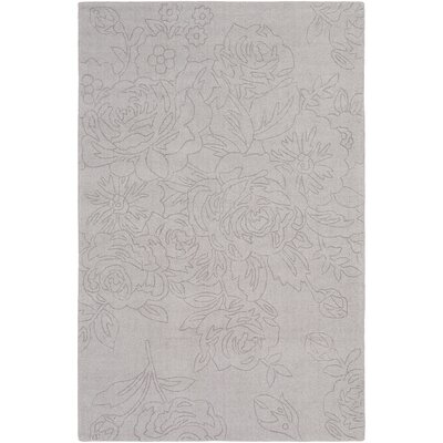 Beckenham Hand-Loomed Taupe Area Rug Rug Size: Rectangle 5 x 76