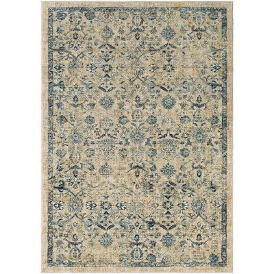 Bayou Khaki/Saffron Area Rug Rug Size: Rectangle 2 x 3