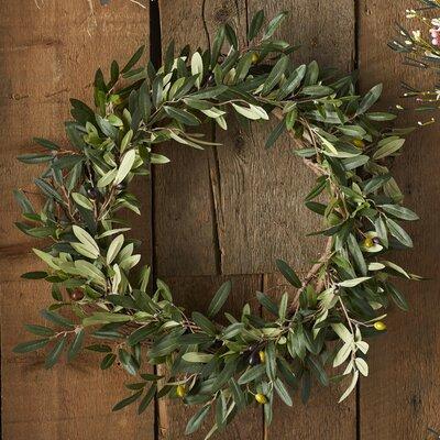 Giada 20 Faux Olive Wreath