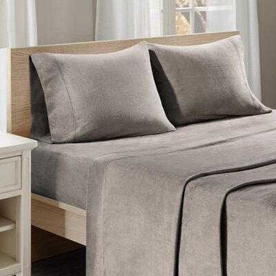 Centreville Sheet Set Size: Twin XL, Color: Taupe