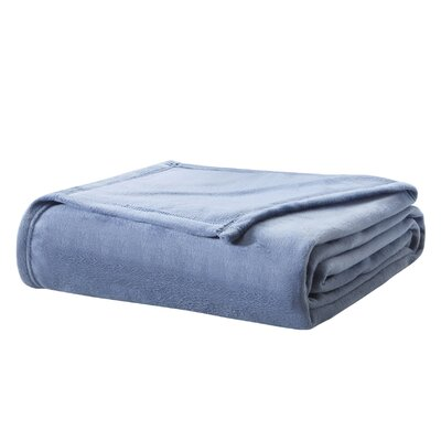 Cleghorn Blanket Size: Full/Queen, Color: Blue