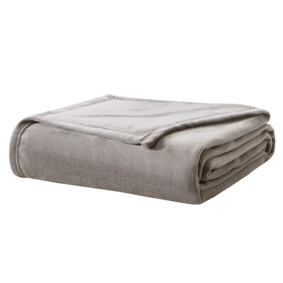 Webster Blanket Size: Full/Queen, Color: Taupe