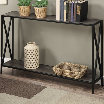 Monticello Console Table Finish: Gray