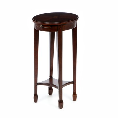 Wentworth Side Table Color: Chestnut Burl