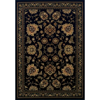 Ardaghmore Black Area Rug Rug Size: Rectangle 96 x 132