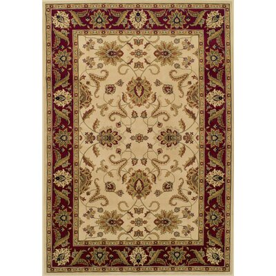 Ardaghmore Ivory Area Rug Rug Size: Rectangle 51 x 75