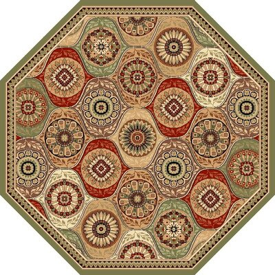Bellville Beige Area Rug Rug Size: Rectangle 18 x 27