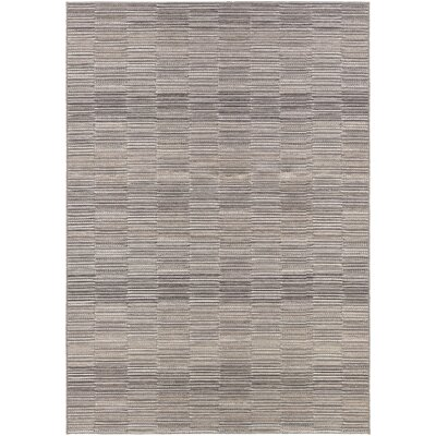 Whitney Gray Indoor/Outdoor Area Rug Rug Size: 710 x 109