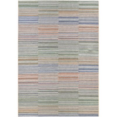 Whitney Beige/Ivory Indoor/Outdoor Area Rug Rug Size: 66 x 96