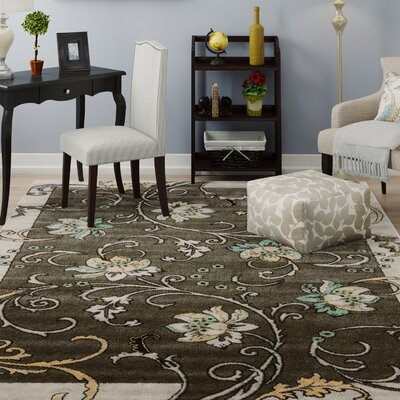 Sioux Falls Light Gray Area Rug Rug Size: Rectangle 5 x 73