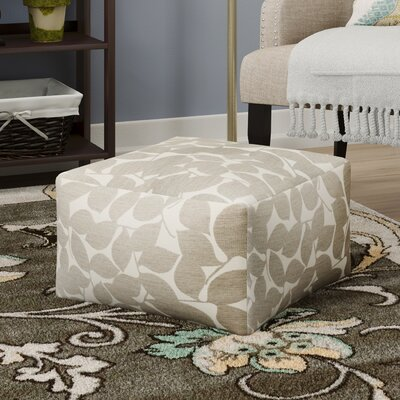 Pouf Upholstery: Light Gray