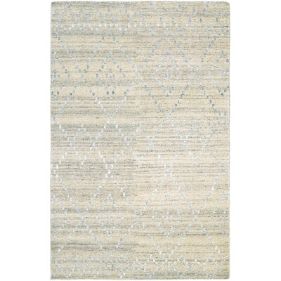 Cargile Hand-Knotted Natural/Beige Area Rug