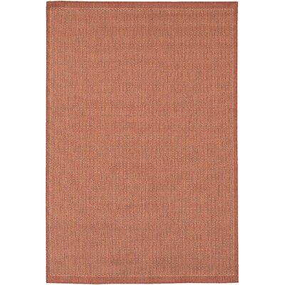 Westlund Terracotta Indoor/Outdoor Area Rug Rug Size: Runner 23 x 710