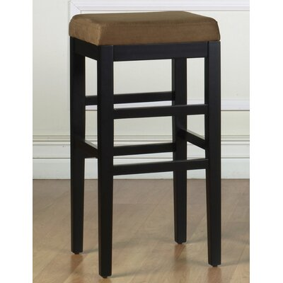 Plymouth 30 Bar Stool Upholstery: Brown Microfiber