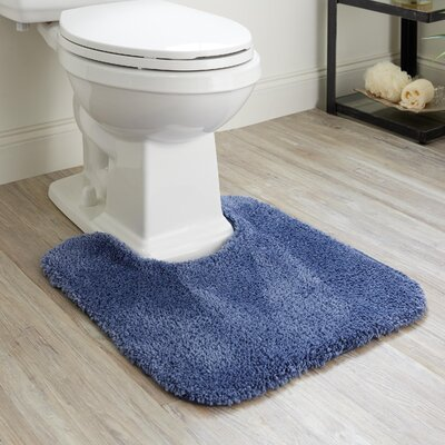 Bushmills Bath Rug Color: Blue