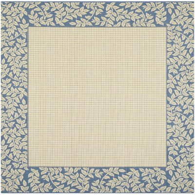 Lippold Brown/Black Outdoor Area Rug Rug Size: Square 67