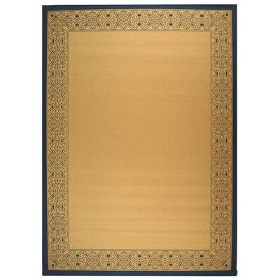 Lansbury Natural Outdoor Area Rug Rug Size: Rectangle 9 x 126