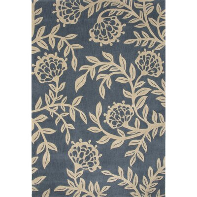 Norton Polyester Hand Tufted Blue Area Rug Rug Size: 2 x 3