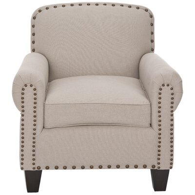 Yonkers Club Chair Color: Taupe
