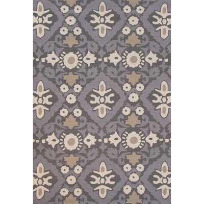 Norton Polyester Hand Tufted Gray Area Rug Rug Size: 2 x 3