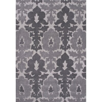 Norton Polyester Gray Hand Tufted Area Rug Rug Size: 2 x 3