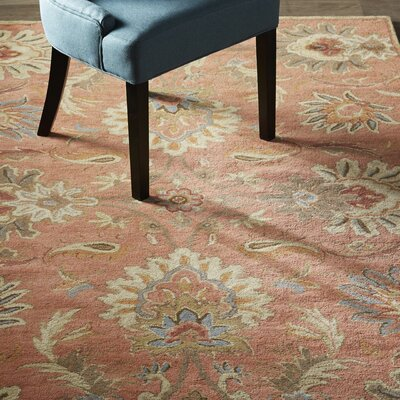 Gaither Orange & Brown Area Rug