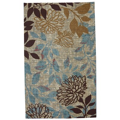 Atwater Bella Garden Area Rug Rug Size: Rectangle 76 x 10