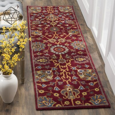 Rodney Hand-Tufted Area Rug Rug Size: Rectangle 4 x 6