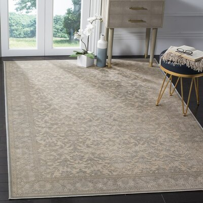 Orville Cream/Blue Area Rug Rug Size: 8 x 112