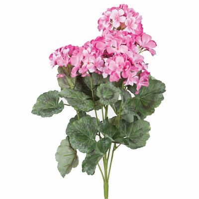 Silk Artificial Geranium Flowers
