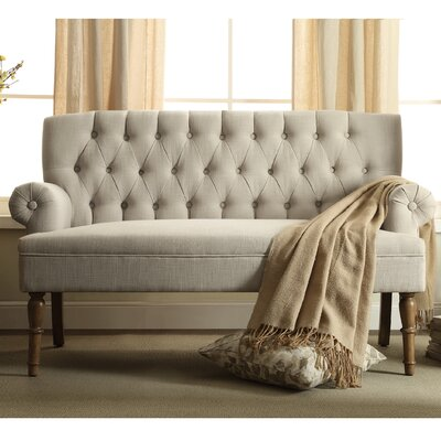 Barryknoll Tufted Upholstered Settee