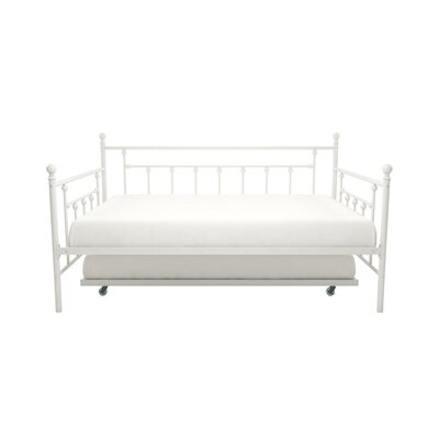 McCarthy Daybed with Trundle Finish: White, Size: Twin