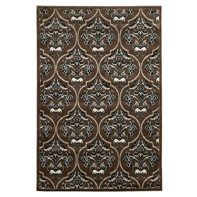 Bloomingdale Brown Area Rug Rug Size: 5 x 7