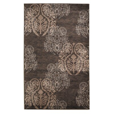 Bloomington Brown Area Rug Rug Size: Rectangle 5 x 77
