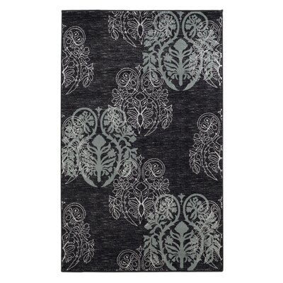 Bloomington Black/Gray Area Rug Rug Size: Rectangle 111 x 21