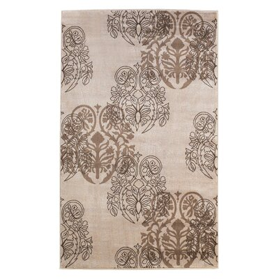 Bloomington Ivory Area Rug Rug Size: Rectangle 5 x 77