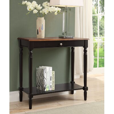 Carlisle Console Table Finish: Dark Walnut