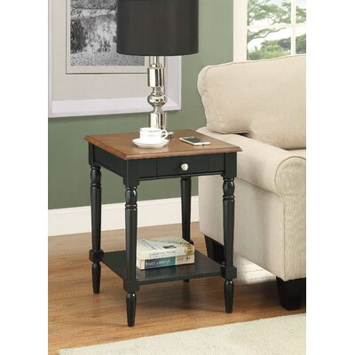 Carlisle End Table Top Color: Dark Walnut
