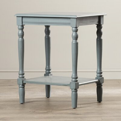 Hadenson End Table Finish: Sea Green (Blue-ish Green)