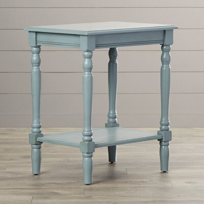 Hadenson End Table Finish: Antique Arctic Blue