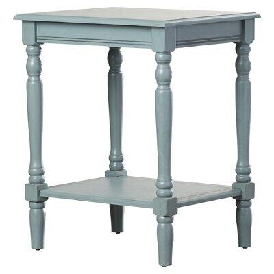 Hadenson End Table Color: Antique Arctic Blue