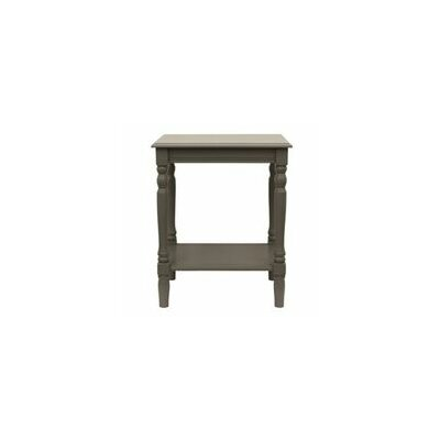 Hadenson End Table Color: Eased edge gray