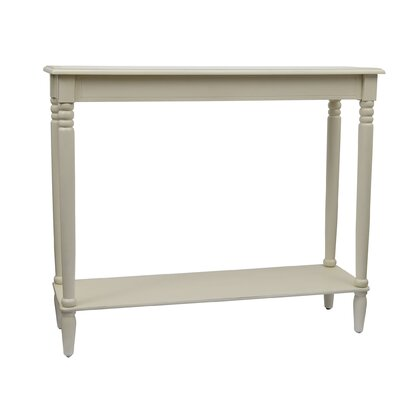 Wedgewood Console Table Color: Antique White