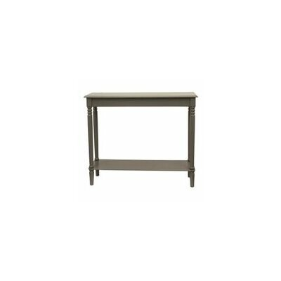Hadenson Console Table Color: Eased Edge Gray
