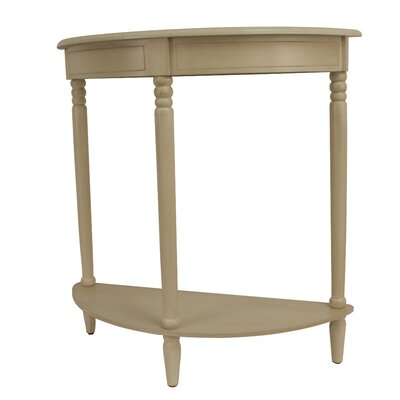 Hadenson Half Moon Console Table