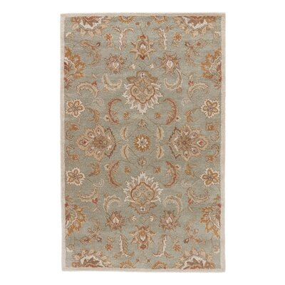 Thornhill Rug in Blue & Ivory Rug Size: 4 x 8