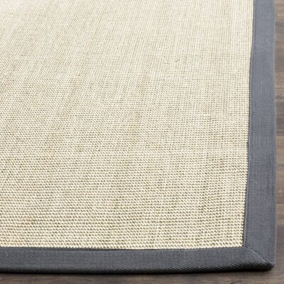 Eldert Hand-Woven Marble/Light Gray Area Rug Rug Size: 9 x 12