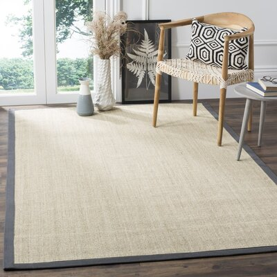 Eldert Hand-Woven Marble/Light Gray Area Rug Rug Size: 5 x 8