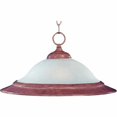 Pauline 1-Light Pendant Finish: Country Stone